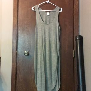 H&M long tank with slits